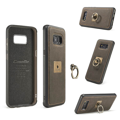 CaseMe Samsung Galaxy S8 Plus Detachable Finger Ring TPU PC Back Cover Case