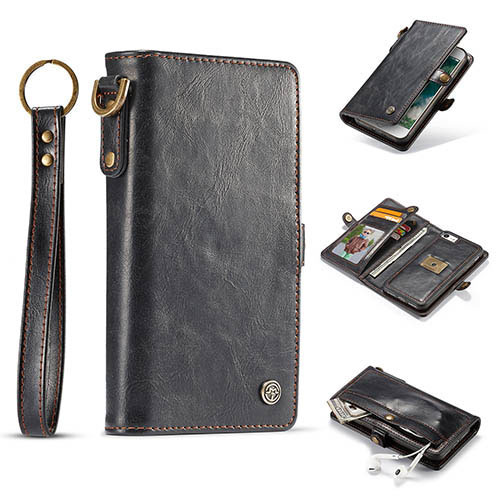 CaseMe iPhone 7 Wallet Detachable Wrist Strap Case