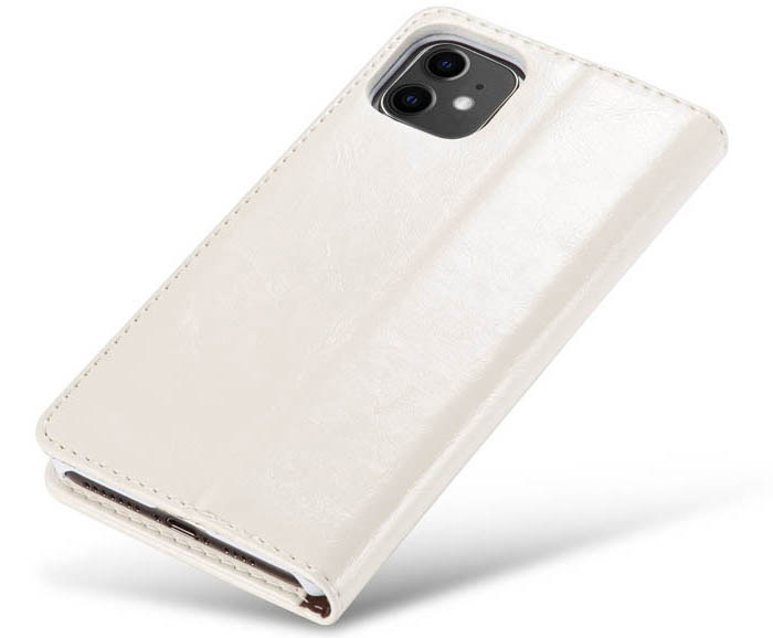 CaseMe iPhone 11 Wallet Magnetic Flip Stand Leather Case