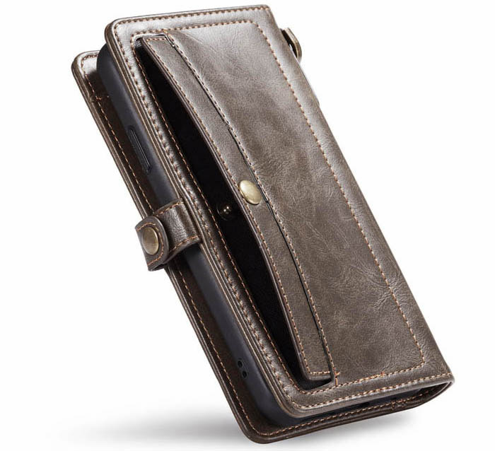 CaseMe iPhone 11 Pro Wallet Magnetic Detachable 2 in 1 Case With Wrist Strap