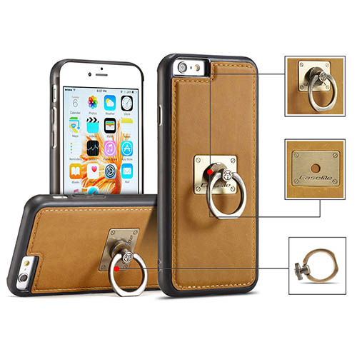 CaseMe iPhone 6 Plus Detachable Finger Ring TPU PC Back Cover Case